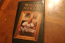 Whitey Herzog Bobblehead St. Louis Cardinals tickets.com cardinals.com