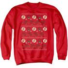 Flash, The The Flash Ugly Christmas Sweater - Men's Crewneck Sweatshirt