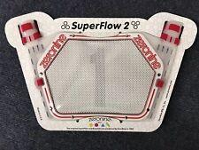 ZeroNine 2019 SuperFlow2 numberplateWhite &Redfull set of Superflow numbers
