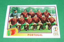 N°295 EQUIPE TEAM PORTUGAL PANINI FOOTBALL JAPAN KOREA 2002 COUPE MONDE FIFA