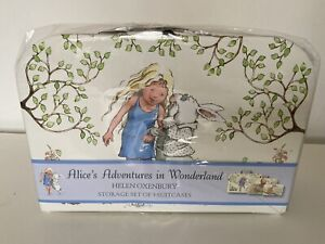 ALICE'S ADVENTURES IN WONDERLAND, HELEN OXENBURY, STORAGE SUIT CASES