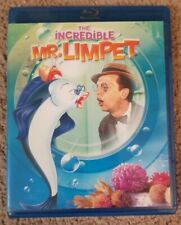 The Incredible Mr. Limpet (Blu-ray Disc, 2012) WB Don Knotts Tested Works