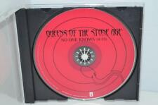 Queens Of The Stone Age No One Knows US Radio DJ Promo CD Single 2002 QOTSA