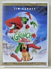 Dr. Seuss' How the Grinch Stole Christmas (DVD, Widescreen, 2000) FREE SHIPPING!