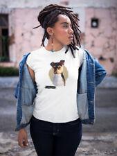 Watercolor Brazilian Terrier Dog Women's Tee -Image by Shutterstock