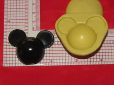Large Mouse Character Fondant Silicone Push Mold Resin Candy 258 Cup Cake
