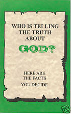 Who Is Telling The TRUTH About God?/Seventh-day Adventist/Ellen G. White~SDA~