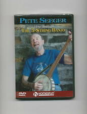 HOW TO PLAY THE 5-STRING BANJO PETE SEEGER LESSON DVD