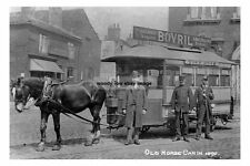 rp15309 - Leeds Horse Car to York Road - photo 6x4