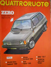 Quattroruote 279 1979 Prove Ford Fiesta, Chrysler-Simca Sunbeam 1000. BMW [Q97]