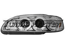 Honda Civic 92->95 Fari Anteriori Angel Eyes Cromati