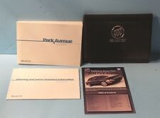 04 2004 Buick Park Avenue owners manual