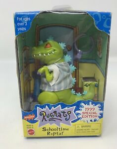 Mattel 1999 Rugrats Schooltime Reptar Collectible Figure Viacom Nickelodeon Toy