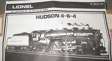 Lionel # Rare6-8606, 1986, BA 4-6-4 Hudson 784, rather hard to find, MINT