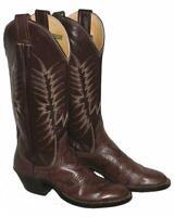 """ NOCONA "" Damen- Western- Stiefel /  Boots / Lederstiefel in braun ca. Gr. 36"