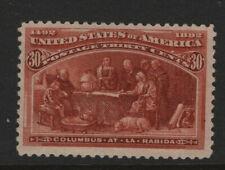 #239 Mint original gum 30 cent Columbian