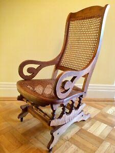 Vintage Brown furniturechairsrusticfarmhouseold housedecorlake housecabindenlodgecountryseating Old Cane Bottom Wood Chair
