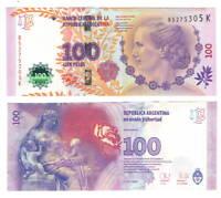 ARGENTINA UNC 100 Pesos Banknote (2012) ND P-358b Paper Money