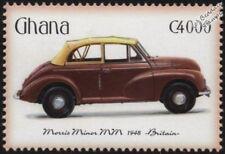1948 MORRIS MINOR (MM) Tourer Convertible Car Automobile Stamp