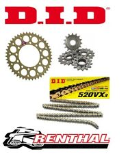 Renthal / DID Chain & Sprocket Kit to fit Yamaha XT 660 Z Tenere 2008-2015