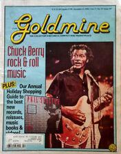 CHUCK BERRY - GOLDMINE MAGAZINE - COVER STORY - 12/13/91