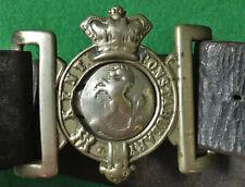 KENT COUNTY CONSTABULARY Queen VICTORIA Era Constable's UNIFORM Belt & Buckle