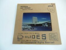VEGAS SLIDE SAHARA 1950'S PHOTO CAR NEVADA VINTAGE EARLY OLD VIEW HOTEL CASINO