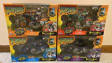NEW Teenage Mutant Ninja Turtles Battle Bike 2004 TMNT Collection All 4 NIB