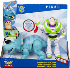 Disney Pixar Toy Story Poseable Buzz Lightyear and Trixie 2-Pack *BRAND NEW*