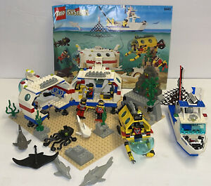 Vintage Lego Town Deep Reef Refuge #6441 100% Complete With Instructions