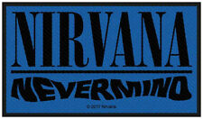 NIRVANA - Aufnäher Patch Nevermind 5x10cm