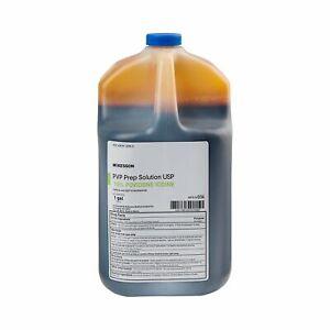 McKesson PVP Prep Solution 10% Povidone-Iodine 1 Gallon Jug 1 Each 036