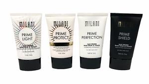 Milani Face Primer (0.68Oz/20mL   1Oz/30mL) NEW; YOU PICK!