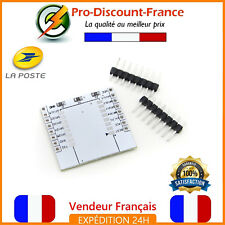 Module Adaptateur Wifi ESP8266 2,54mm ESP12E ESP12F PCB Breadboard Arduino