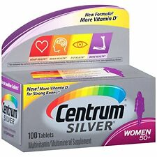 Centrum Silver Women Multivitamin Supplement 100 Tablets