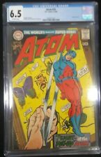 The Atom #35 CGC 6.5 FN+ 1968 Off-WHITE Pages Flawless New CGC Case Gil Kane