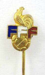 FRANCE FOOTBALL FEDERATION ( FFF ) VINTAGE OLD PIN STICKPIN