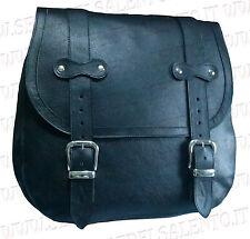 Mono Borsa moto guzzi semi rigida leather handmade bobber shadow biker harley