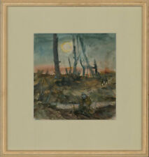 Ronald Olley (b.1923) - c. 2000 Mixed Media, On the Battlefield
