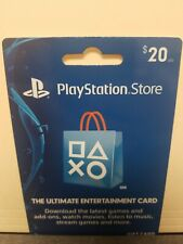Playstation Store $20 card