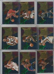 90's INSERTS LOT (9/10) 1995-96 HOOPS GRANT'S ALL-ROOKIE KG STACKHOUSE RC 1:64