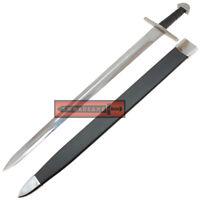 Authentic Battle Ready Viking Loki Warrior Type X Long Sword Full Tang Peened