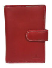 Cellini Paris RFID Medium Tabbed Wallet Red Multi
