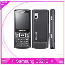 "Samsung C5212 Original Unlocked 2.2"" 1.3MP Dual SIM Mobile Phone Bluetooth Mp3"