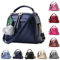 Women's Handbag Messenger Purse Tote Satchel Crossbody Shoulder Bags PU Leather☸
