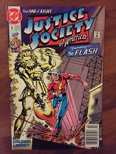 DC comics, Justice Society and others, 8 books all in near mint+ condition