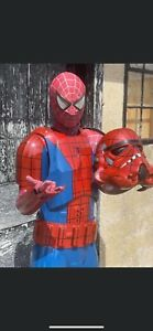 Stormtrooper Spiderman  Professional Costume Prop Amazing Paint Work Cosplay