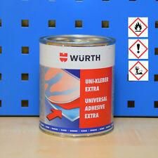 (40,96/L) Würth Colle néoprène unicolore adhésif Extra adhésif 730ml bouteille