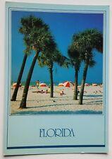 FLORIDA BEACH - FLORIDA COLLECTION - POSTCARD - UNPOSTED