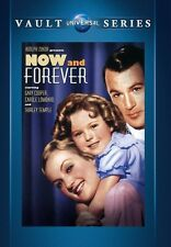 Now and Forever 1934 (DVD) Gary Cooper, Shirley Temple, Carole Lombard - New